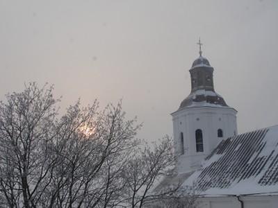 Telšių Šv. Antano Paduviečio katedros bokštas